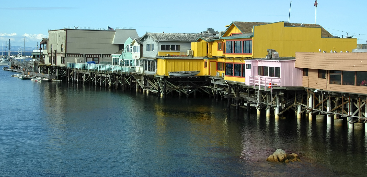 THE ATTRACTIONS AND SCENERY THAT BRING VISITORS TO MONTEREY COUNTY ARE MINUTES AWAY FROM OUR SALINAS LOCATION