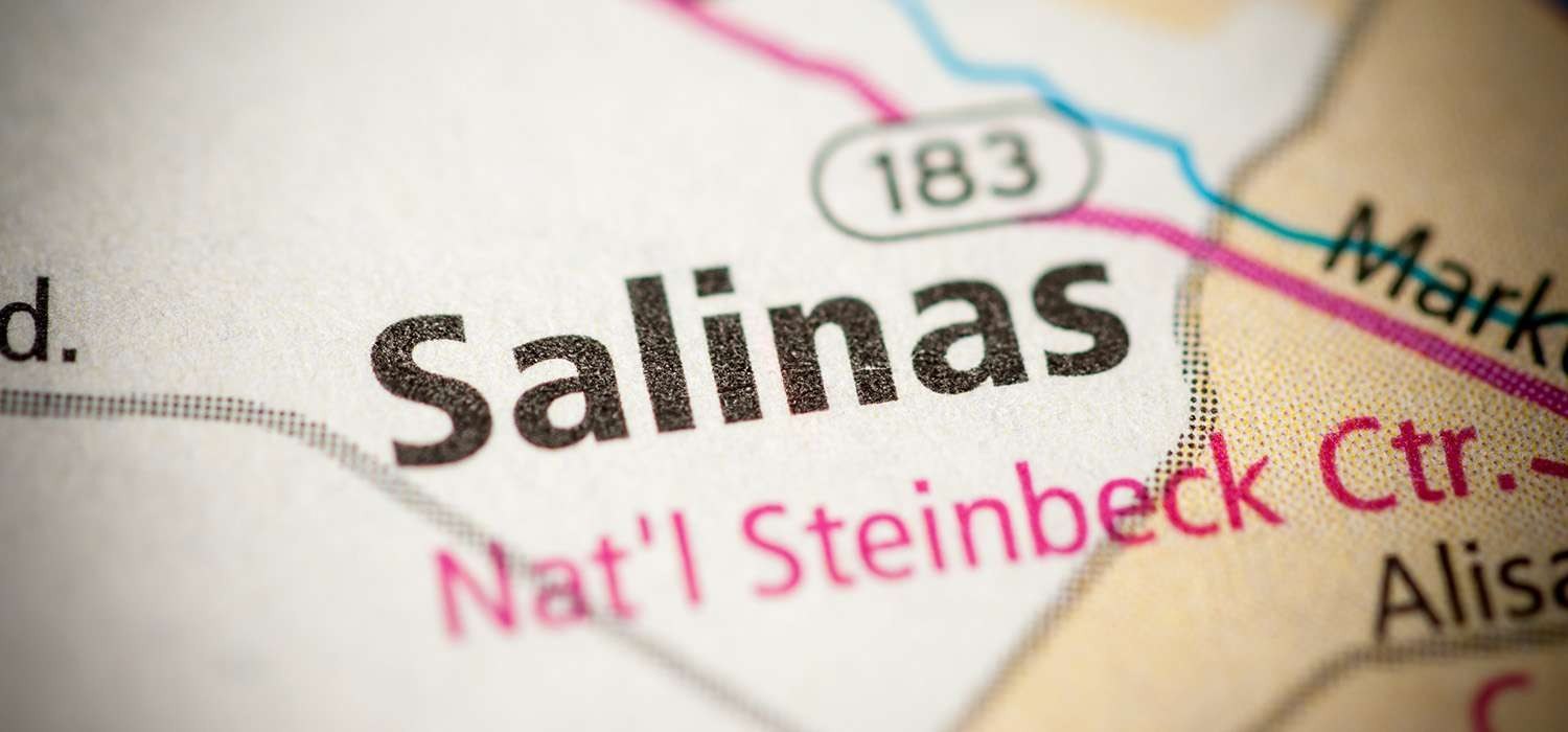 USE OUR INTERACTIVE MAP TO FIND OUR SALINAS HOTEL